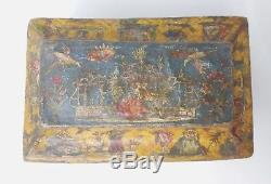 Paper Box Cut And Painted, Arte Povera, Eighteenth Century