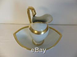 Pitcher And Basin Porcelain Empire Paris 1 Epoque Toilette Service