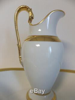 Pitcher And Basin Porcelain Empire Paris 1st Service Epoque De Toilette