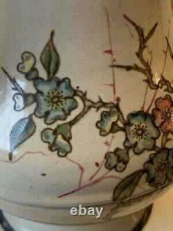 Pitcher Broc Ancient Enamelled Sheet Napoleon III Antique Victorian Enamel Tin Jug