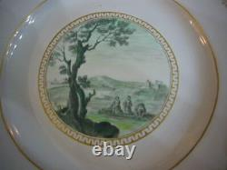 Plate Faience Of Marseille XVIII Em Gaspart Robert Decor 3 Lavandieres