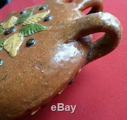 Popular Art Ancient Gourde Glazed Terracotta Decor Earth Applies Polychrome