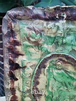 Popular Art Pan Earth Varnished Alsace 17th 17th 18th High Time