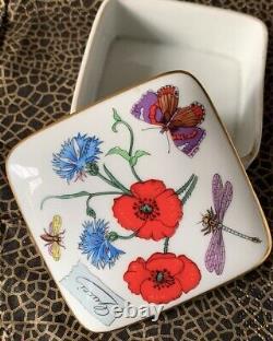 Porcelain Gucci Boxes 1980s Bernardaud