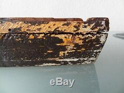 Rare Ancient Woodcut Plate For Printing On Fabrics Or Vellum 18th (lyon)