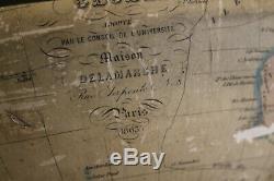Rare Earth Delamarche 1863 In Very Good Condition