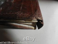 Rare Eighteenth / Portfolio Wallet Porte Sous / Parchment Leather / 1