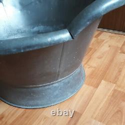 Rare Former Tub Bathtub 19th Zinc Tin 3-13 Years Old