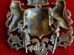 Rare Plate Harness Bronze Sinks And Chiseled Silver D'arms A 1 Tour