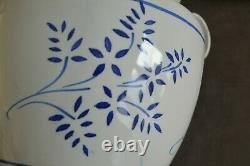 Rare Pot A Confit Decor Foliage Flowers Martens Tolosane N/a / 19 Eme H 20 CM