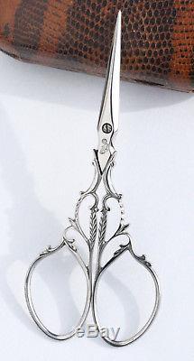 Rare Rare Scissors Antique Embroidery Scissors Antique Needle Stitch Embroidery