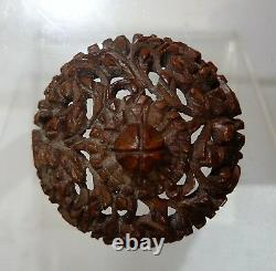 Rare Stove Pipe Carved Tagua Circa 1800