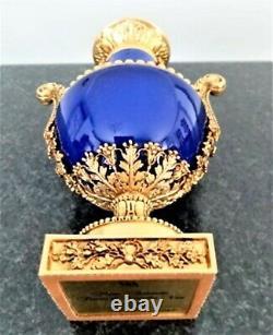 Rare Tres Vase Original Bronze And Porcelain Colbat Marie Antoinette Signe