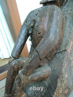 Raven Oak Brittany / Nomandie XVII Ème Art Populaire Haute Époque