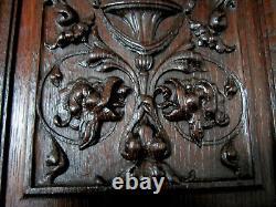 Renaissance-style Oak Panel. High Era, Carved Wood, Woodwork, Decoration