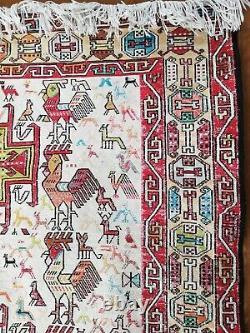 Russian Soumak Carpet End Xix°/start Xx°