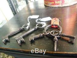 Safe With Old Keys And Combination Marseille Bourelly Raynaud Laugier
