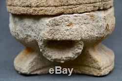 Salt MILL Old Stone Carved, Auvergne