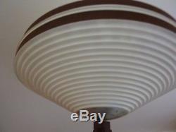 Scandinavian Teak Tripod Design Lamp Vintage Ufo 60