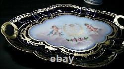 Sèvres Porcelain Platter, Chateau Des Tuileries, Royal Provenance Lp