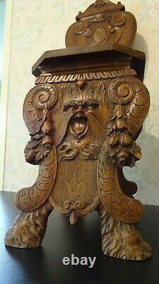 Sgabello Escabelle Italy 18th Century