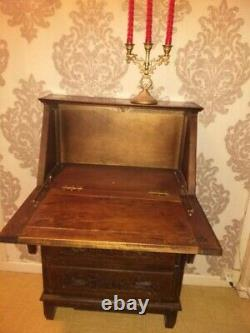 Small Office Secretary Traditional Breton Style Solid Wood