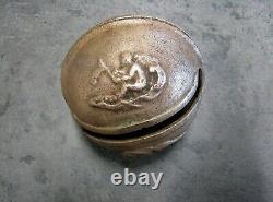Sonnaille Ou Grelot En Bronze D'écoupage De Diligence 18e/19e. People's Art