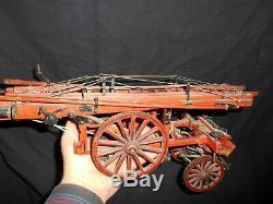 Superb Former Model Scale Model Large Scale Of Firefighters Folk Art
