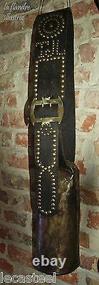 Superb Large Bell Cow Popular Mountain Art Studded Necklace