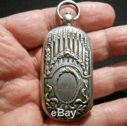 Superb Porte Louis D 'or Sterling Silver 800/1000 Art Nouveau 1915 20 F 10 En