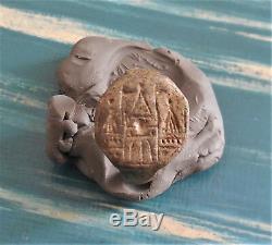 Superb Ring Seal Village Medieval / Matrix / Diam Int 1,8 X 1,9 CM