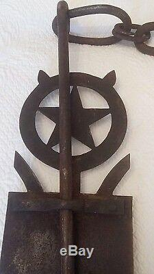 Superb Wrought Iron And Copper Rack Brittany Or Normandy Xviiith Time