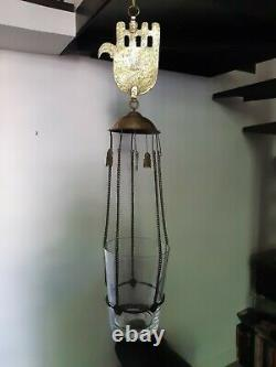 Synagogue Lamp Or Vintage Morocco Mosque Islamic And Judaica Lamp Morocco