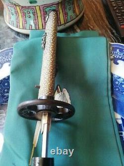 Tanto/wakizashi Muromashi Era 1350/1550 Signed Sanemori