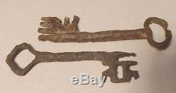Two Keys Romanesque Period, Thirteenth Century, State Of Discovery