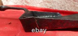 Very Beautiful 18th Century Wrought Iron Fireplace Shovel (very Good Condition)