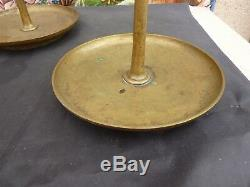 Very Beautiful Pair Of Candlesticks Or Pic Glitter Epoque 18 Eme