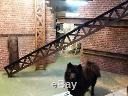 Very Large Beam Eiffel Style Wooden Industrial Decoration