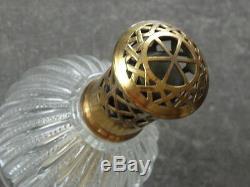 Vintage Retro Antique Glass Brass Lamp Shepherd Home Fragrance Oil Burners Old