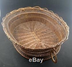 Work Popular Art Basketry Wicker Rattan