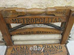 Xixmetropolitan Britishewood Rollers Acme Brandart Pop. Rare