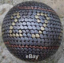 -annual Regional Studded Petanque Ball Located Agde & Encrypted 29