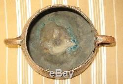 Ancien Cuivre Chaudron Pot Afrique du Nord Orient datation difficile très vieux