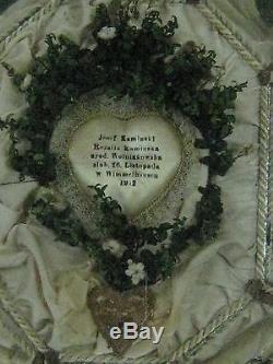 Ancien cadre de mariage Allemand