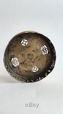 Ancienne lampe laiton FUMEUR CHINOIS (OP WAR) 19ème siècle #8