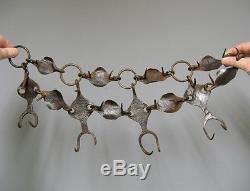 Collier anti-loup en fer forgé 18e-19e. Art Populaire