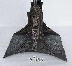 Rare et Ancien ÉTRIER en Métal décoré (OTTOMAN) Cheval Équitation