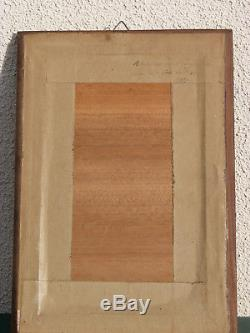 Rare marqueterie de Sainte Odile 1942 de Paul Spindler excellent état
