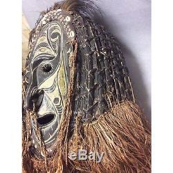 SEPIK Masque-Heaume initiatique Papouasie Nouvelle Guinée