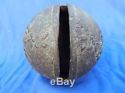TRES GROS GRELOT Ou CLOCHE / Old big bell 11,5 cm / + de 1 kg RARE+! TOP